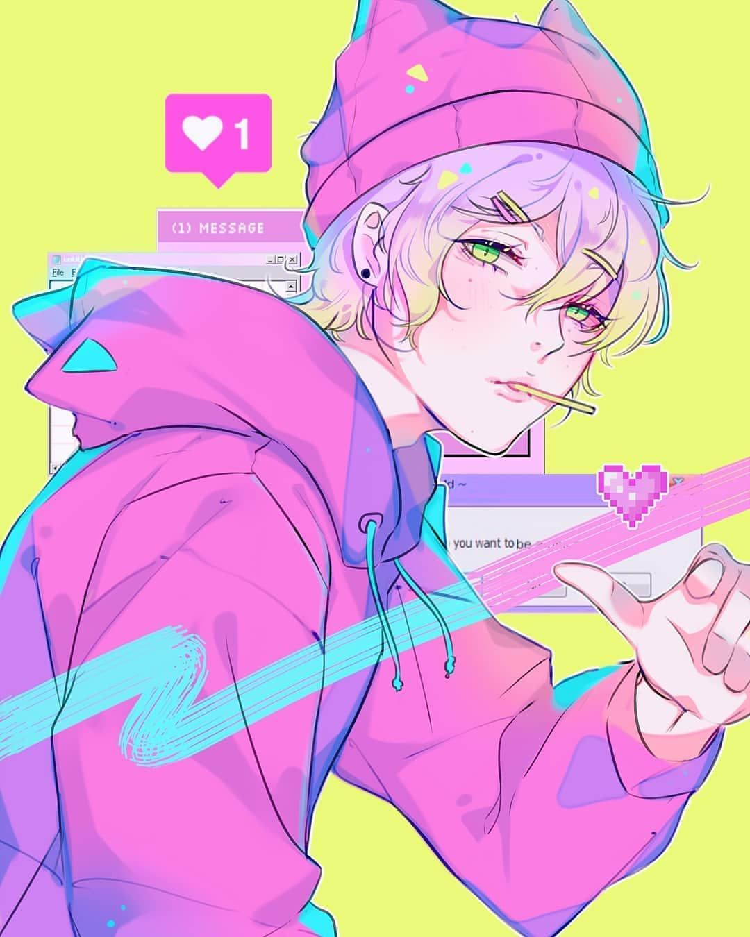 𝐃𝐚𝐢𝐥𝐲 𝐀𝐧𝐢𝐦𝐞 𝐀𝐫𝐭 On Instagram 𝘈𝘳𝘵𝘪𝘴𝘵 0111 Which One Is Your Favorite 1 9 Anime Boy Anime Guys Aesthetic Anime