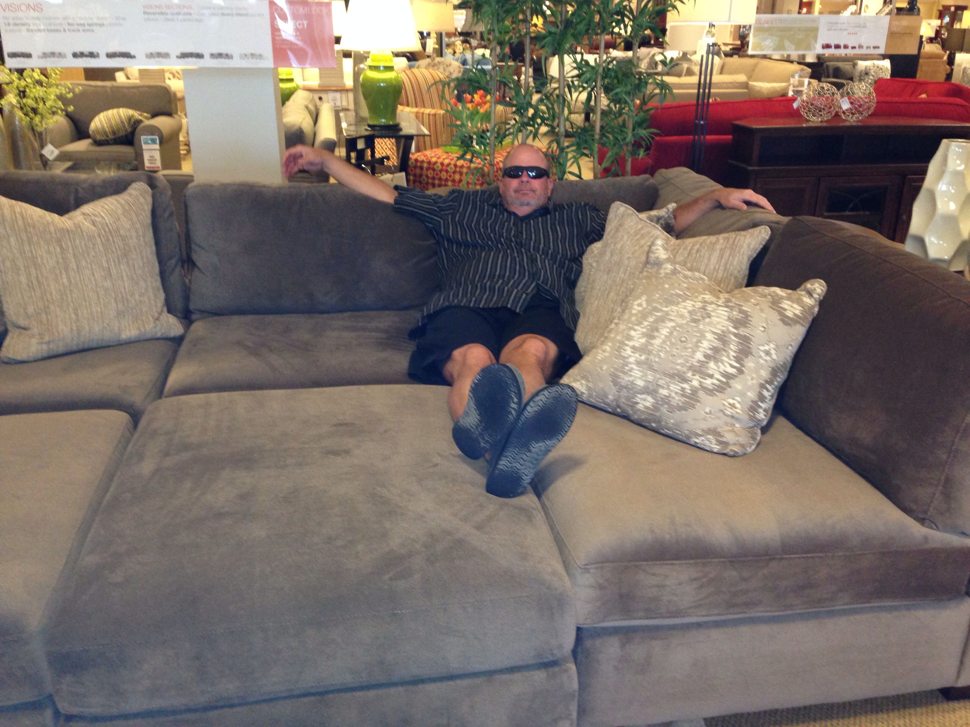 The pit couch we found Media room Pinterest