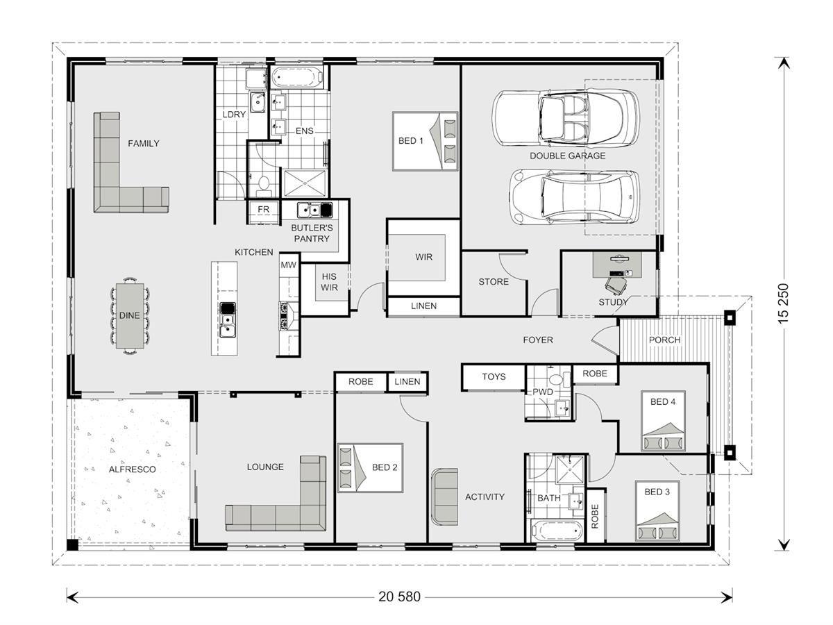 Casuarina 295 - Element, Our Designs, Custom Home Builder GJ Gardner ...