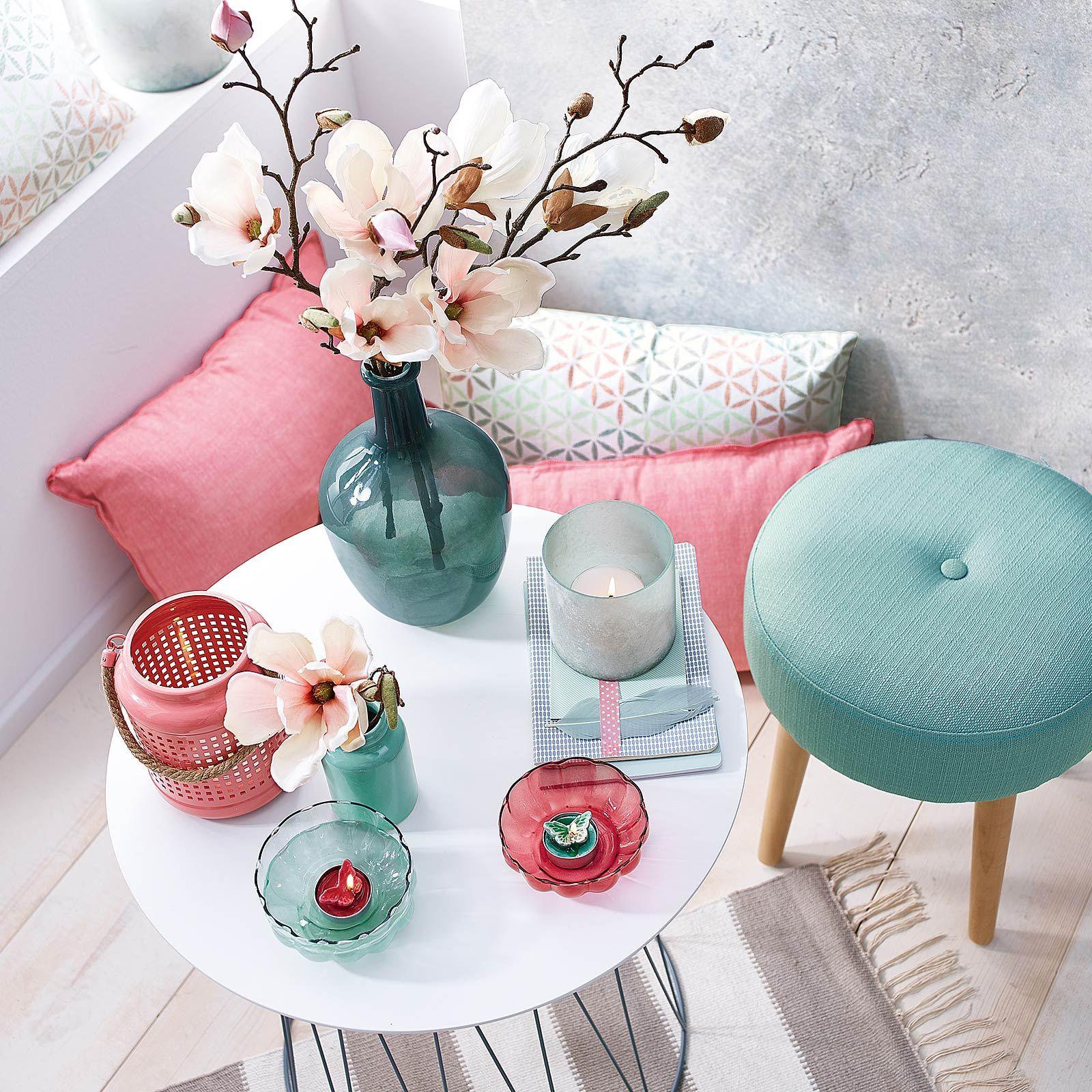 Die Farbenkombination Mint & Pink ist perfekt für den Frühling! Egal ...