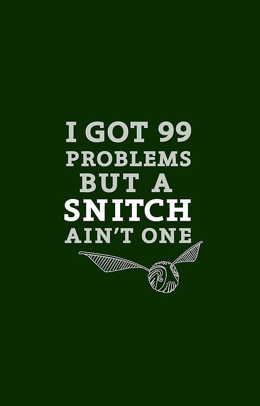 99 Problems But A Snitch Ain T One Green Iphone 12 Soft By Flyingpantaloon Harry Potter Iphone Harry Potter Iphone Case Geek Stuff