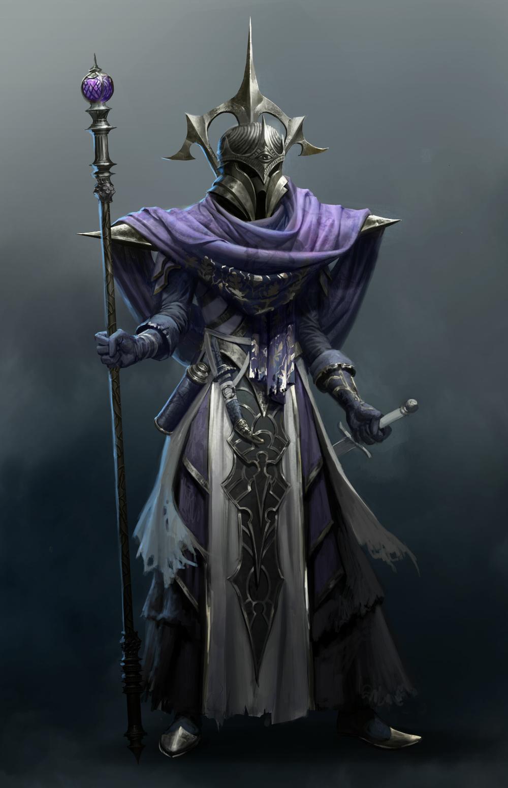 ArtStation - SPELLFORCE III - Darkelf Armor concept, Moritz Lacusteanu
