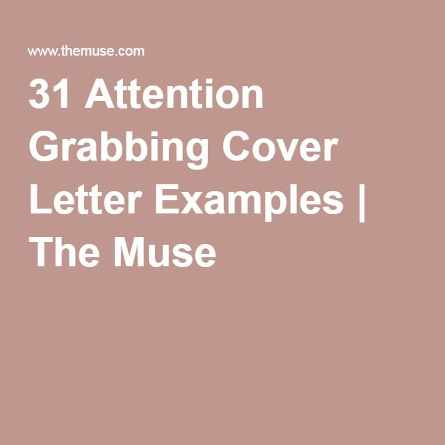31 Attention Grabbing Cover Letter Examples The Muse Thesis - new cover letter examples for barista job
