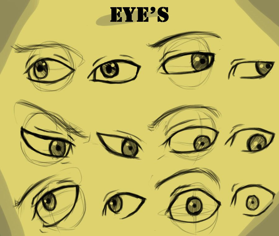Eye S With And Without Guide By Kira09kj On Deviantart Anime Eyes Eye Drawing Realistic Eye Drawing