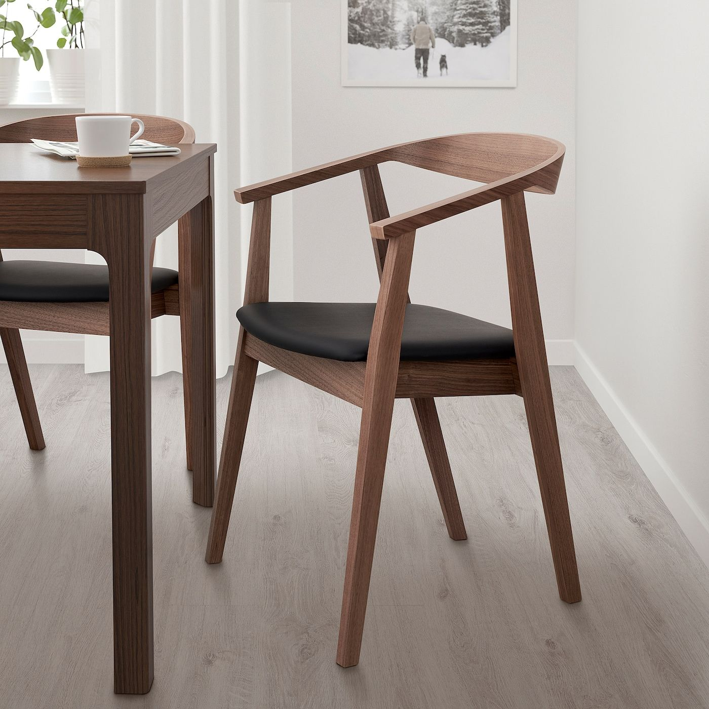 Stockholm Chair Walnut Walnut Living Room Ikea Dining Chair