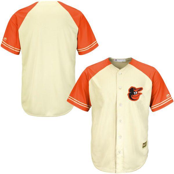 b9ce227a765 Baltimore Orioles Majestic Cool Base Ivory Fashion Team Jersey - Cream  Orange -  89.99