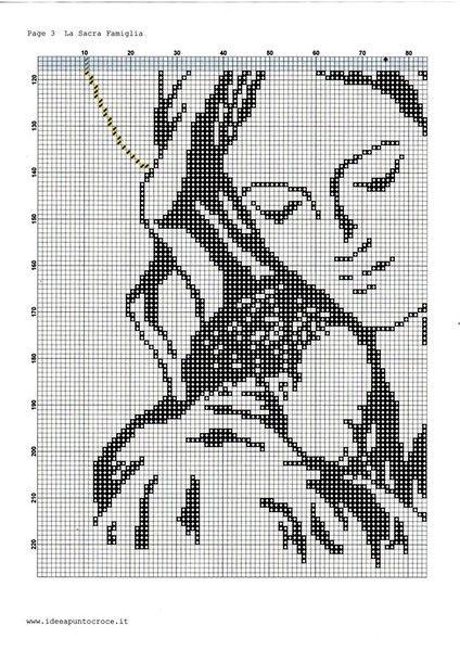 Schemi 2 idee a punto croce religioso cross stitch for Idee punto croce neonati