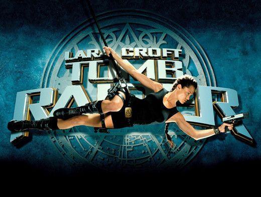 Lara Croft Tomb Raider 11x17 Movie Poster 2001 Tomb Raider