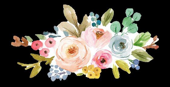 Pin De Miri Monkey En Plantillas Acuarela Floral Flores Vintage Png Cuadro Acuarela