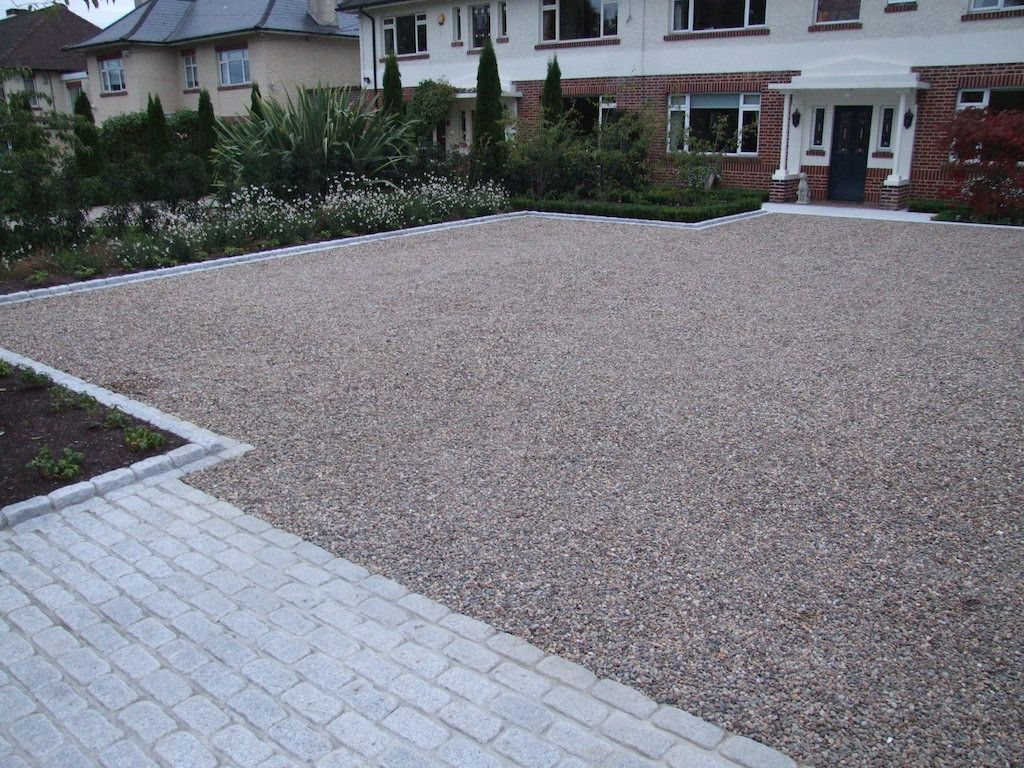 Contemporary Driveway Gravel Driveway Edging Google Search Gravel Drives