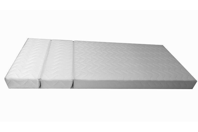 matelas mousse pour lit volutif en trois parties 12 cm. Black Bedroom Furniture Sets. Home Design Ideas