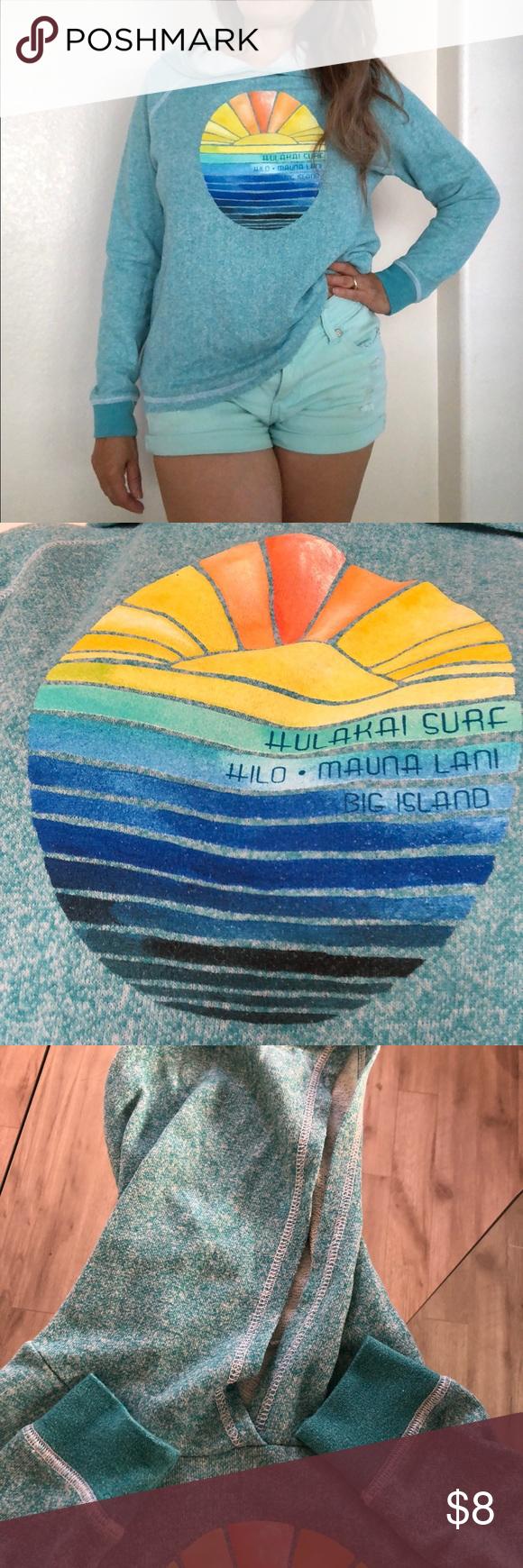 Hulakai Surf Hilo Mauna Hoodie Sweatshirt Hurley Hoodie Sweatshirts Hoodie Sweatshirts