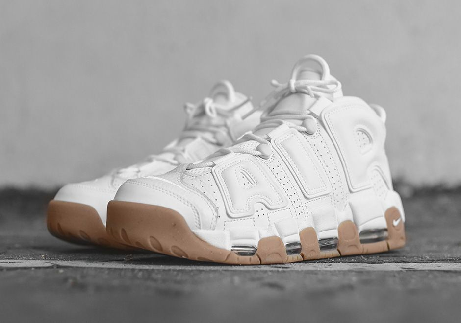 #sneakers #news The Nike Air More Uptempo Is Releasing In White/Gum,