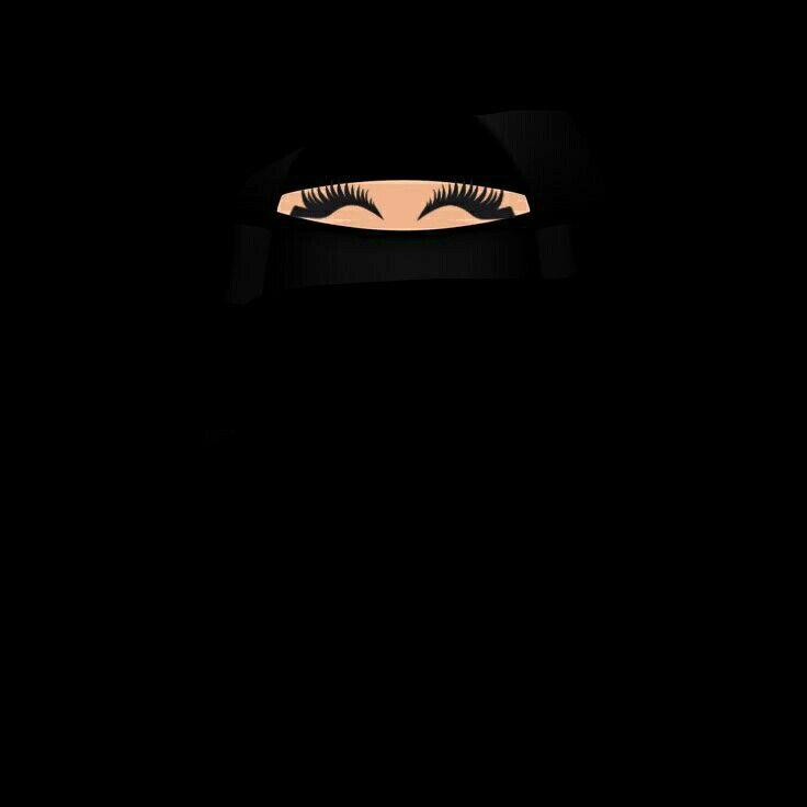 Niqabi Niqabis Wallpaper Niqab Cartoon Muslimah Black niqab eyes wallpaper