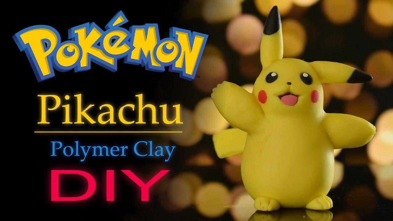 Pikachu | DIY | Polymer Clay | Pokemon