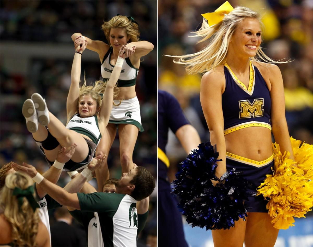 Michigan State Spartans And Wolverine
