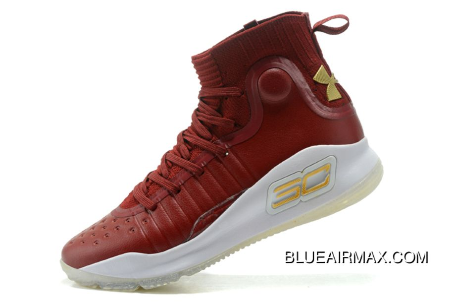 curry 4 red and white
