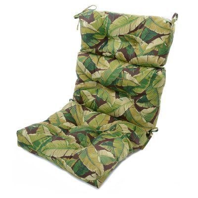 Greendale Home Fashions 44 X 22 In Outdoor High Back Chair Cushion Oc4809 Summerside