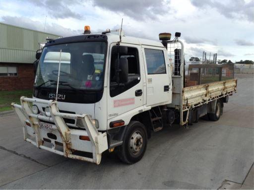11/03, Isuzu, FRR550 , 4x2, Crew Cab Table Top