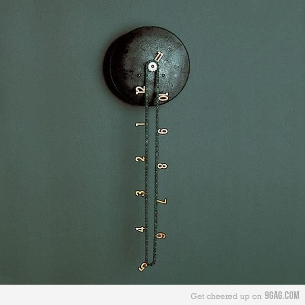 The Catena Wall Clock Was Designed By Andreas Dober For