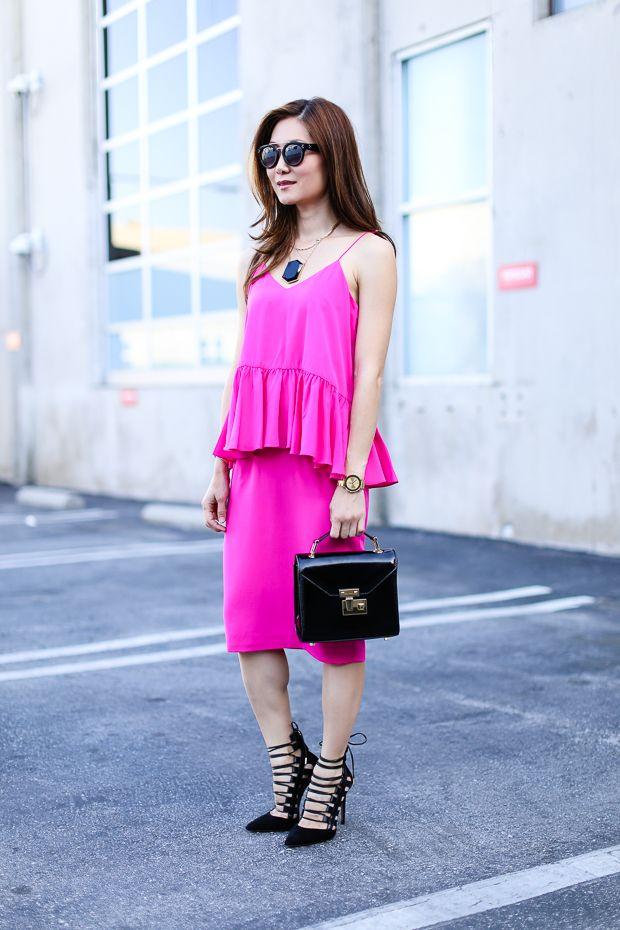 Aquazzura Amazon Pumps, pink dress | My Looks @ Stylewich ...