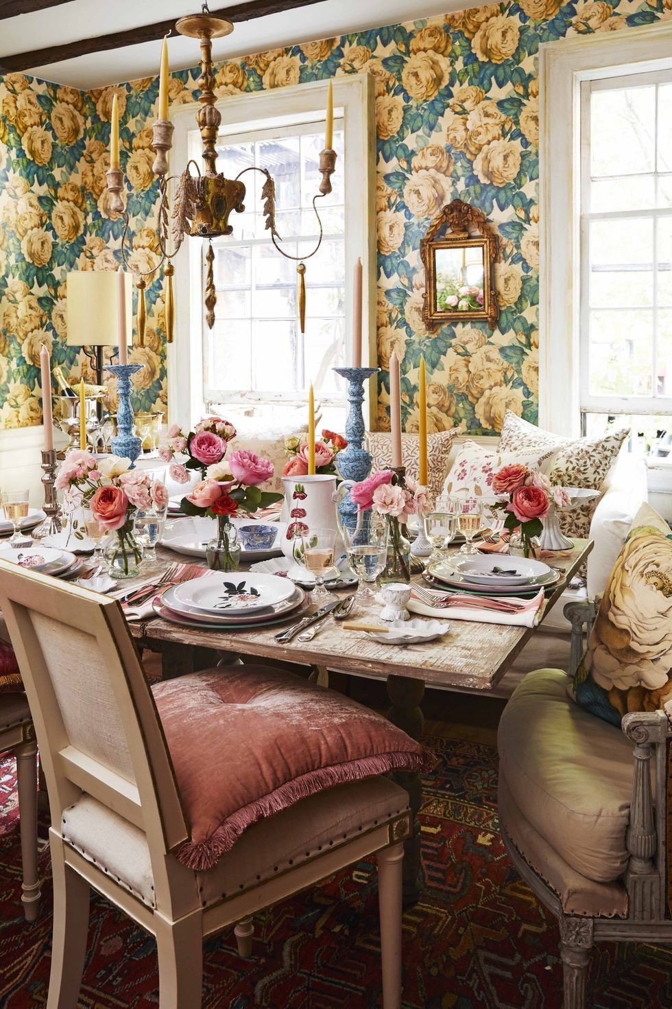 50 Dining Rooms Decorating Ideas With Entertaining In Mind Dining Room Cozy French Country Dining Room White Dining Room
