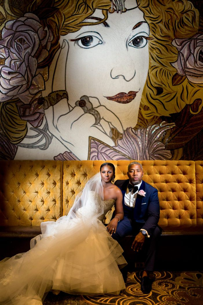 Sophisticated Westin Wedding Modern art deco