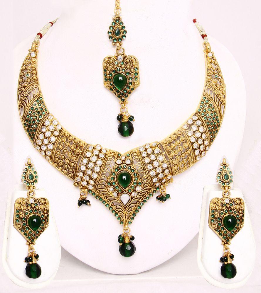 Images of jewellery kenetiks com - Dubai Gold Jewellery Set