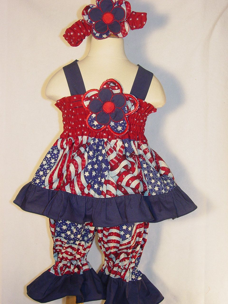 Pageant Wear Fourth Of July Outfit Girls Dress Baby