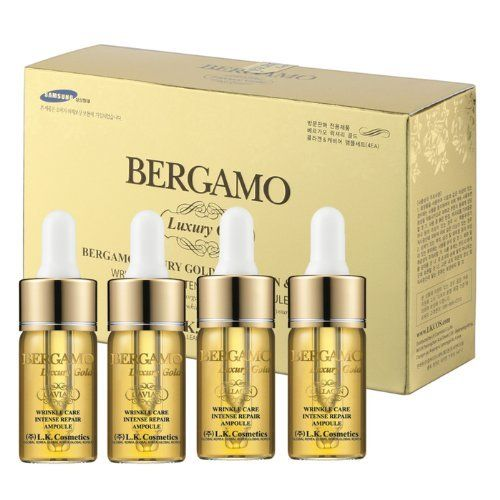 Collagen And Caviar Face Serum Bergamo 4 Pcs 13ml Each Nutrition For Skin Normal To Dry Skin Check Out The Image By Visiti Wrinkle Care Face Serum Collagen
