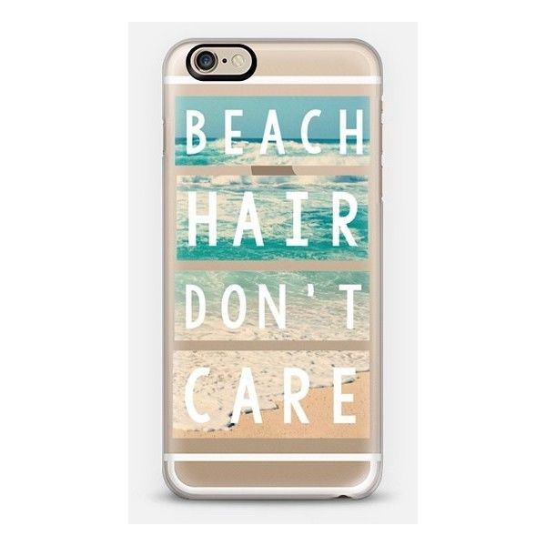 a6bca217b62 Casetify iPhone 6 Case - Beach Hair Don t Care Block by Inspired by Jande