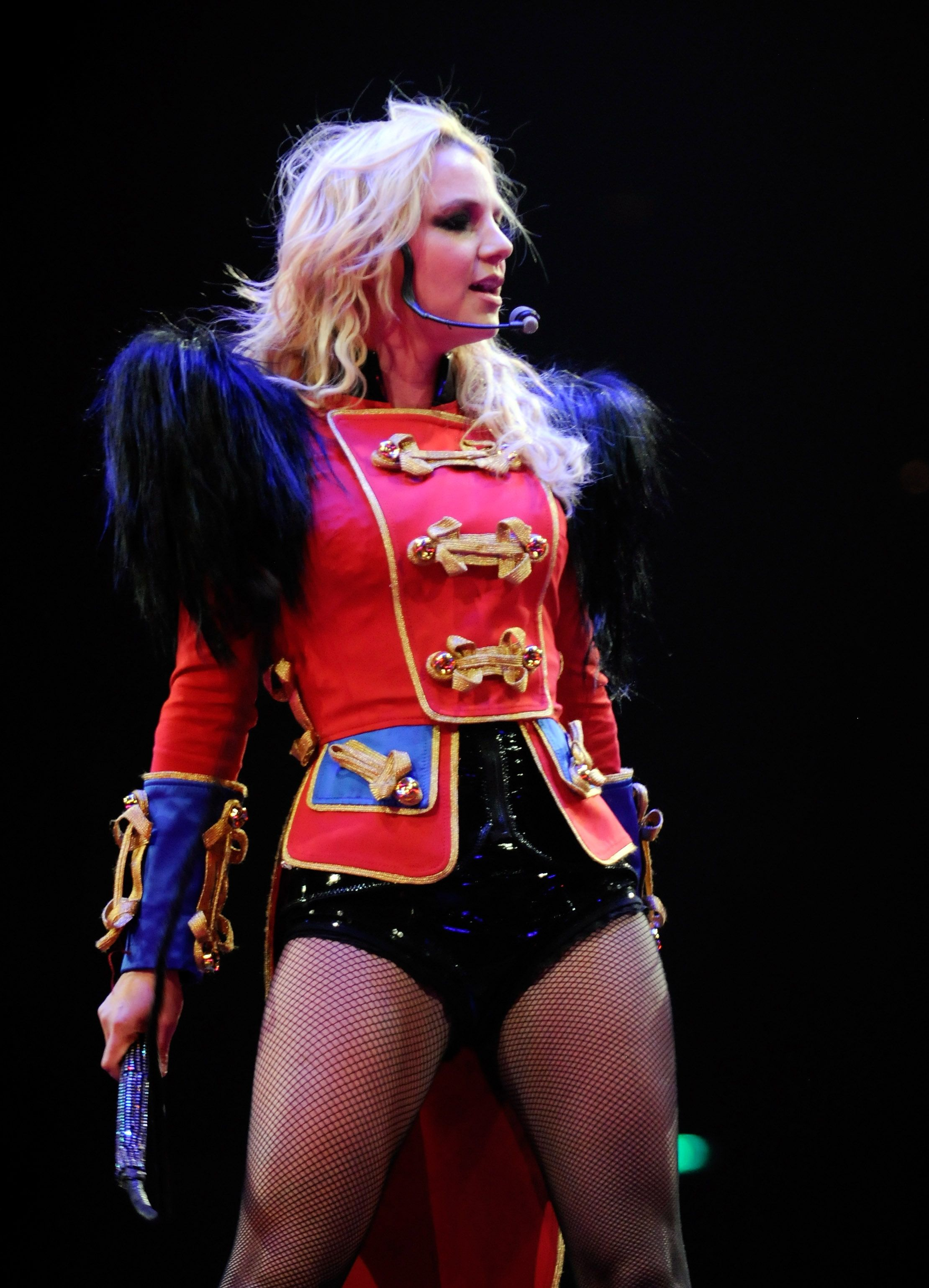 Britney spears circus tour vagina something is