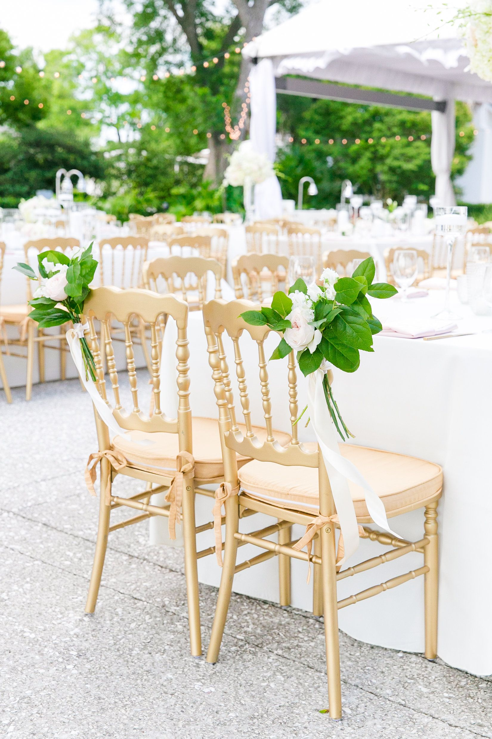 gold seating from pureluxebride in Charleston