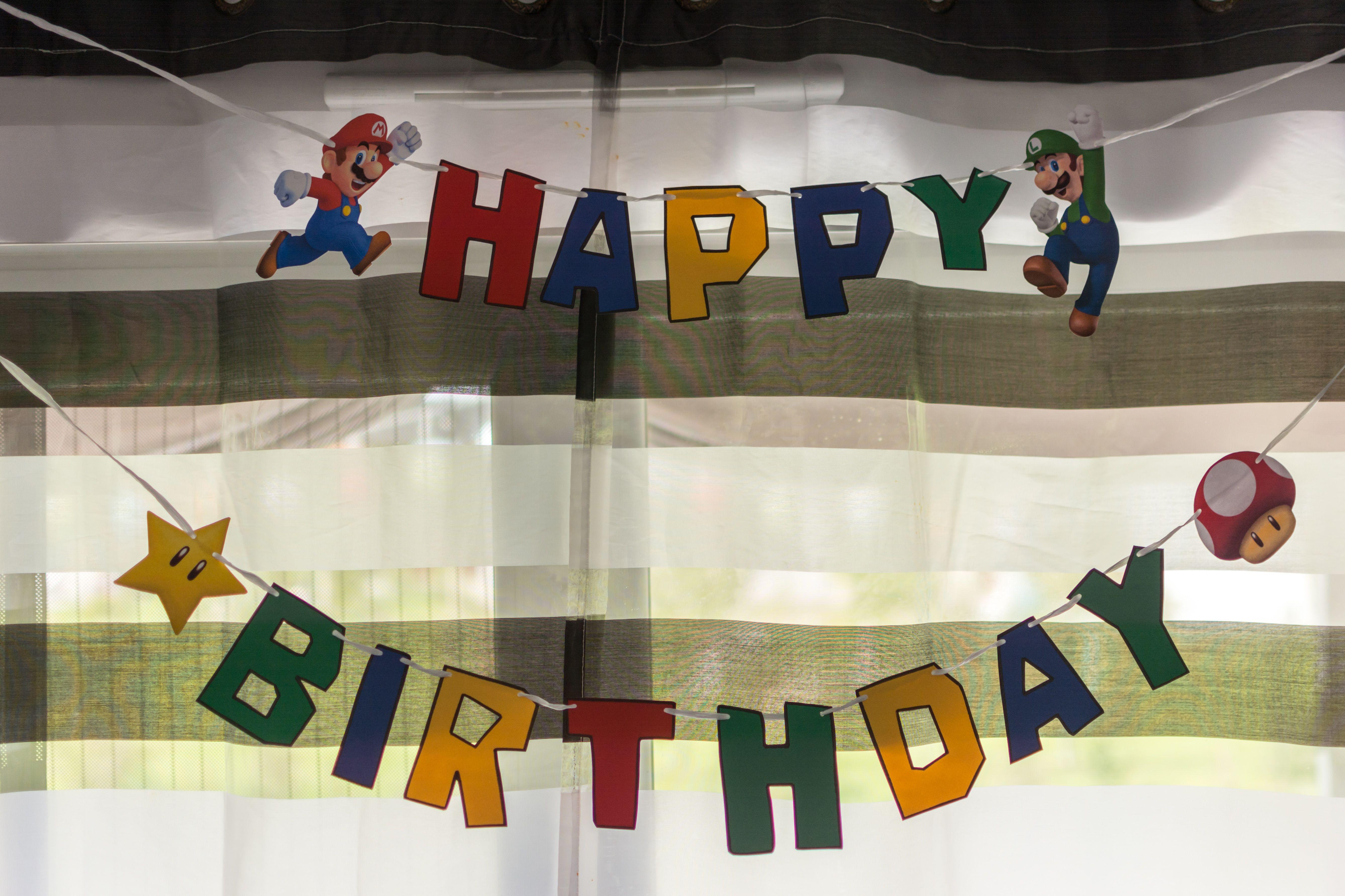 happy birthday banner diy cricut