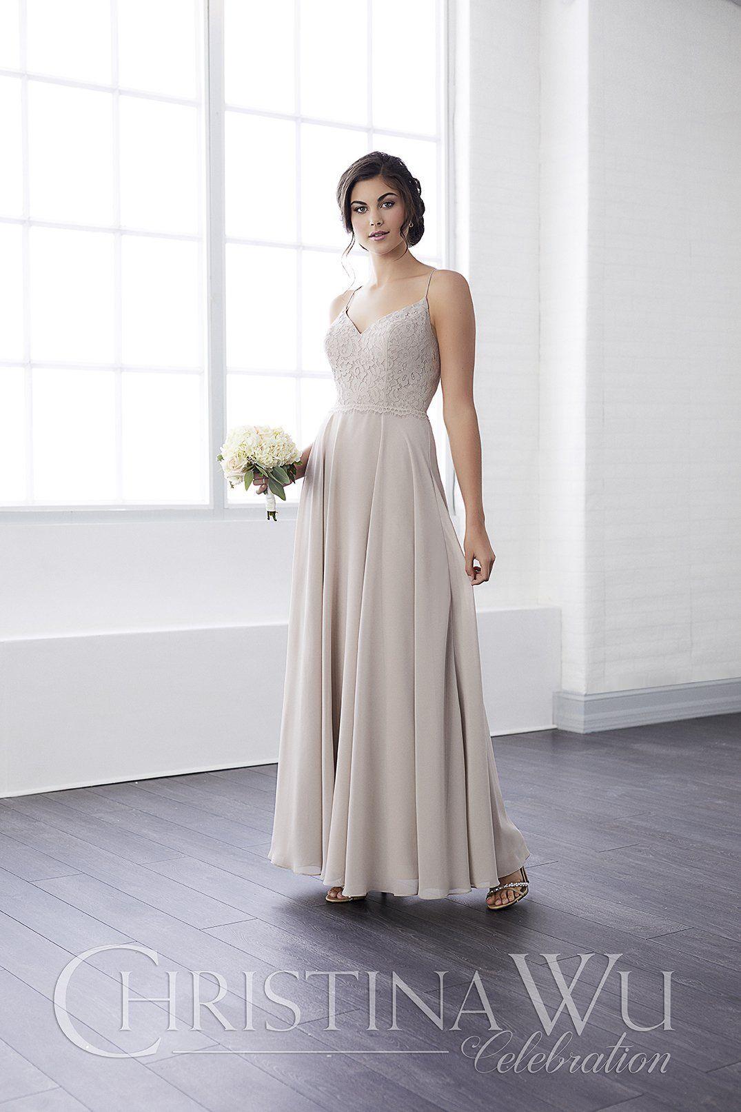 Chiffon wedding dress empire waist  The skirtus long chiffon stream spills out of the empire waistline
