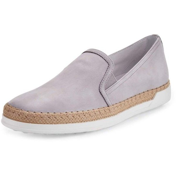 Le Slip-on Sneakers Tod - Gris WYTdvs