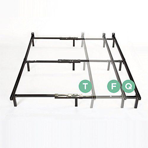 Zinus Compack Adjustable Steel Bed Frame For Box Spring