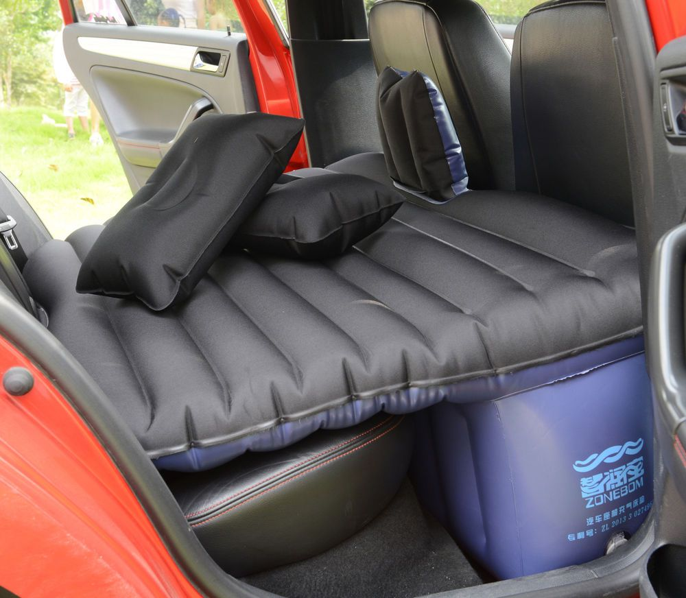 Backseat Inflatable Bed Heavy Duty Car Suv Travel Inflatable Mattress Back Seat Camping