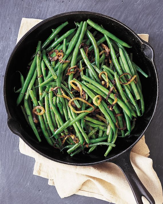 Mustard seeds and ginger flavor these green beans, giving them a warm, spicy…