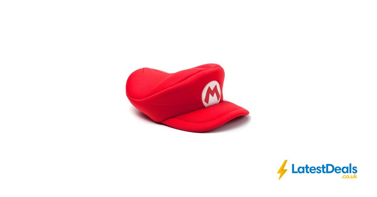 NINTENDO Super Mario Cap Red Free C&C, £14.99 at Currys