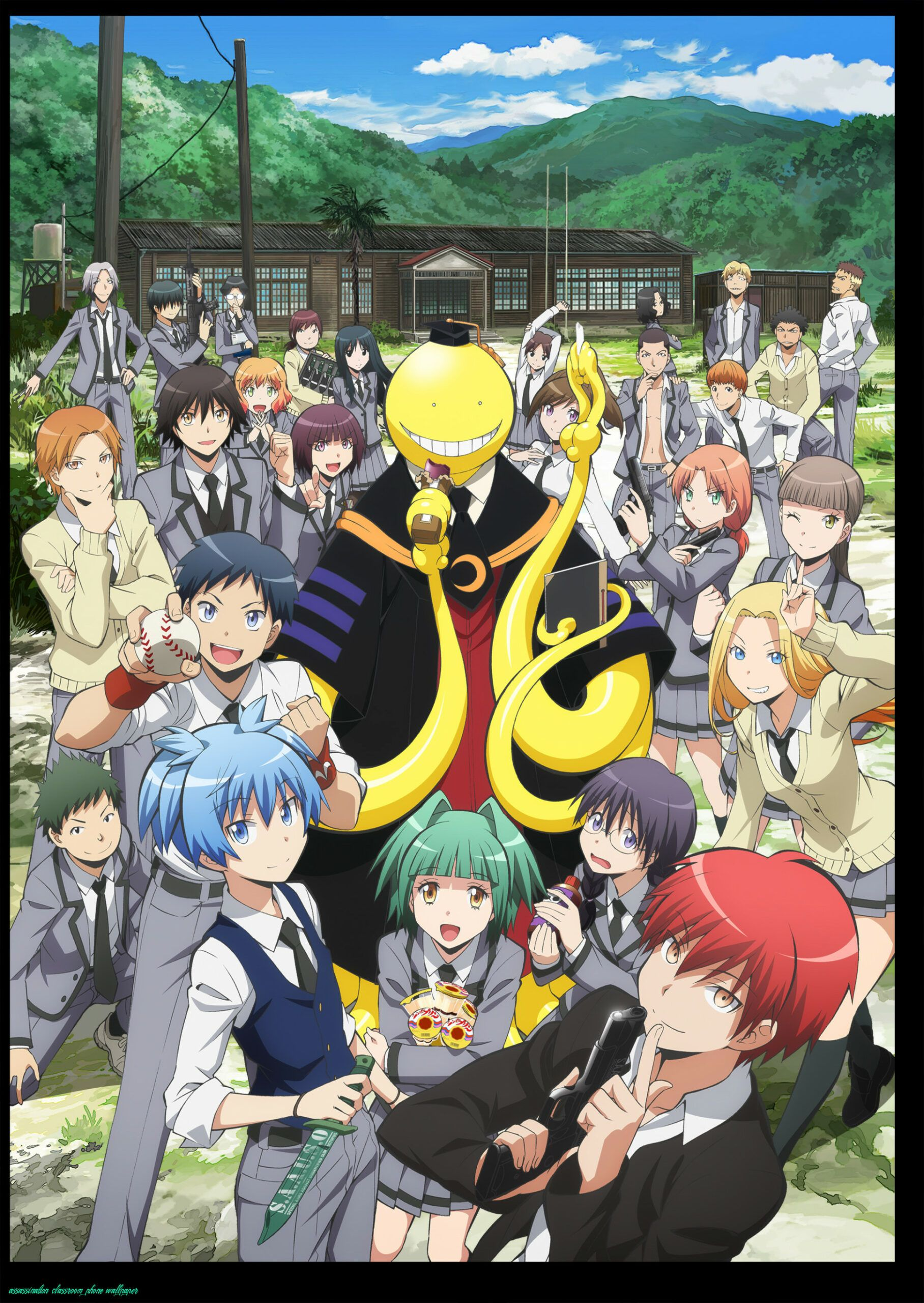 The 7 Secrets That You Shouldnt Know About Assassination Classroom Phone Wallpaper Assassination Classroo Assassination Classroom Anime Cool Anime Wallpapers