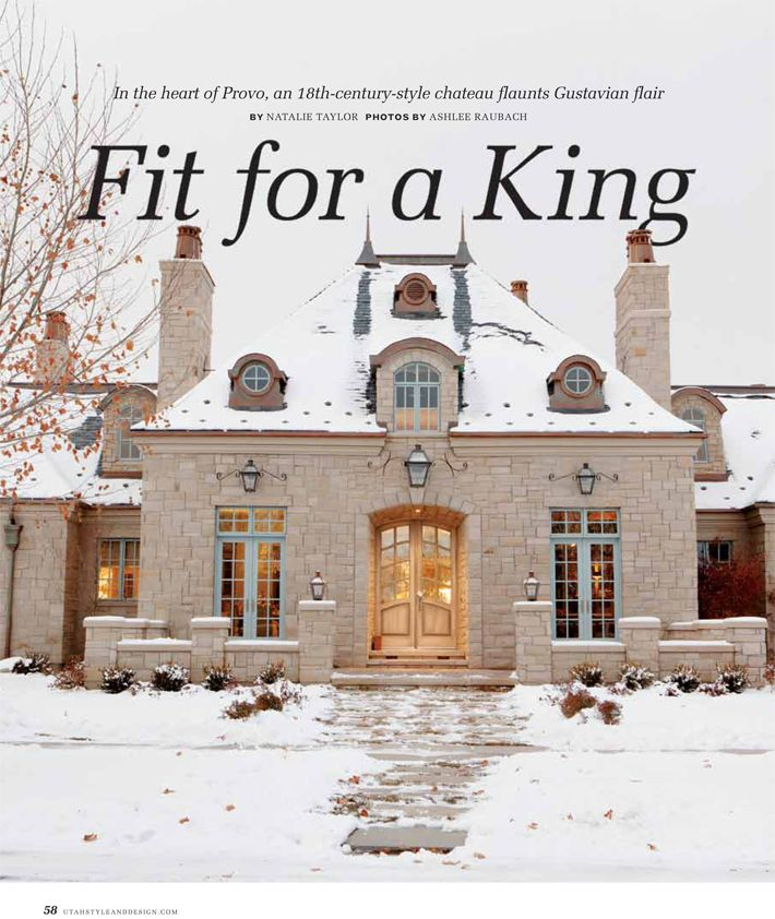 Utah Home Design Architects: Utah Style & Design Winter 2012