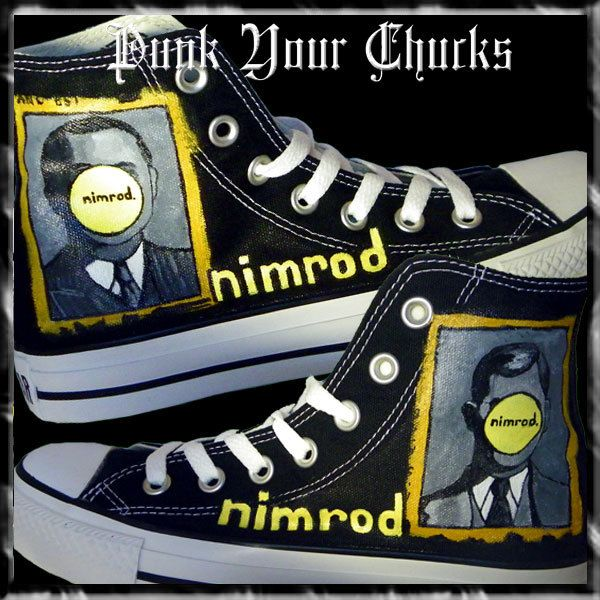 Checkout these Green Day Nimrod Hand Painted Converse  NIMROD  GreenDay   instalike  style  fun  art  cool  converse  chucks d54a47628