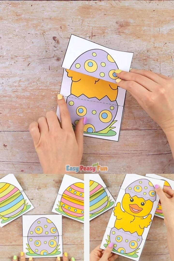 Photo of Surprise Easter Egg Cards Craft for Kids