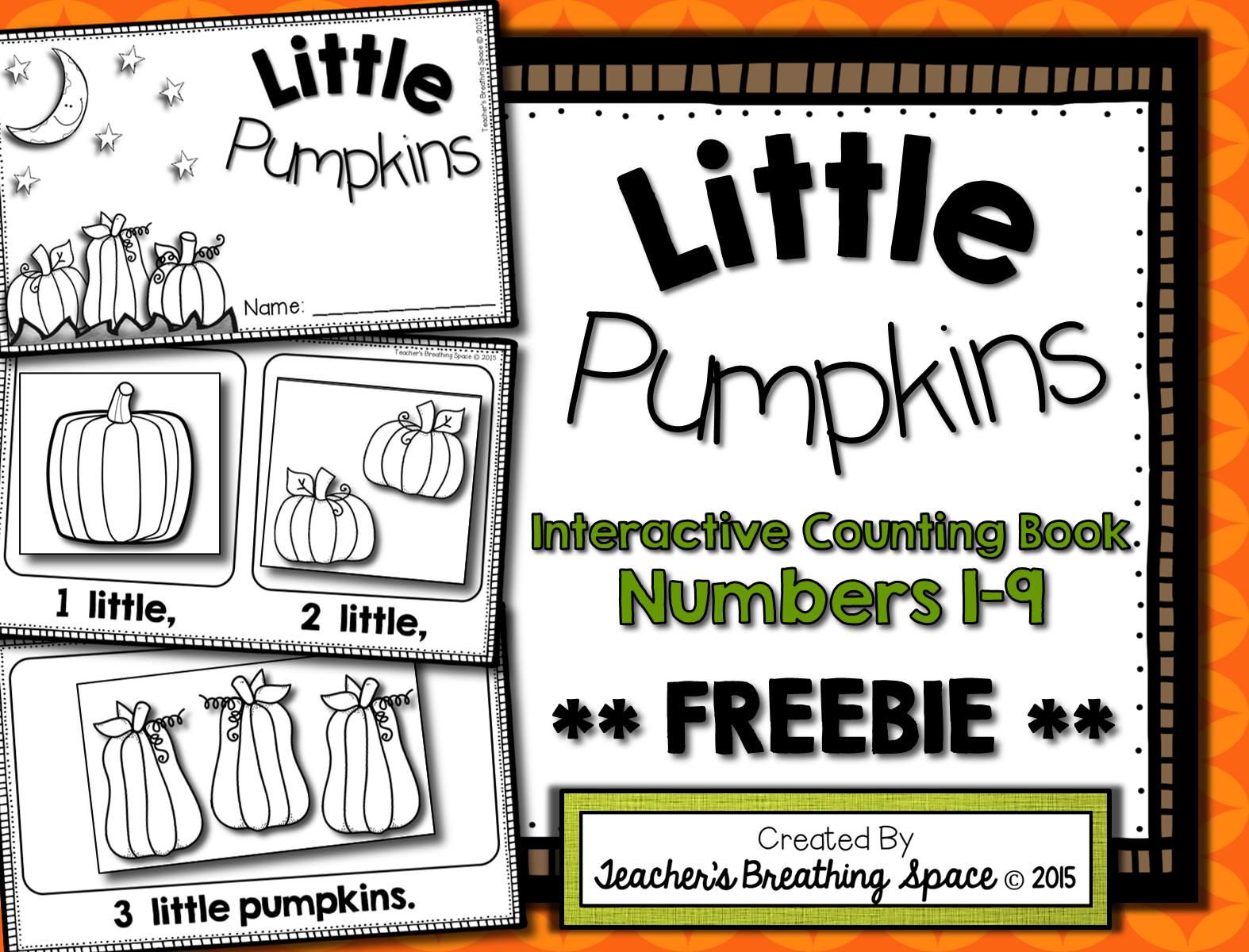 Little Pumpkins Halloween Pumpkin Counting Book