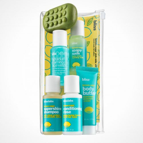 Bliss Spa Sinkside Six-Pack Travel-Sized Favorites SetBliss Spa Sinkside Six-Pack Travel-Sized Favorites Set