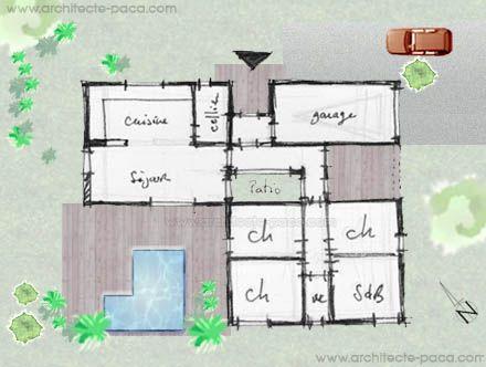 Architecte et plan de maison plans pinterest for Architecte maison container