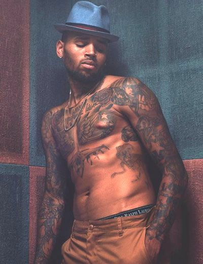 Pin On Chris Brown Tattoos