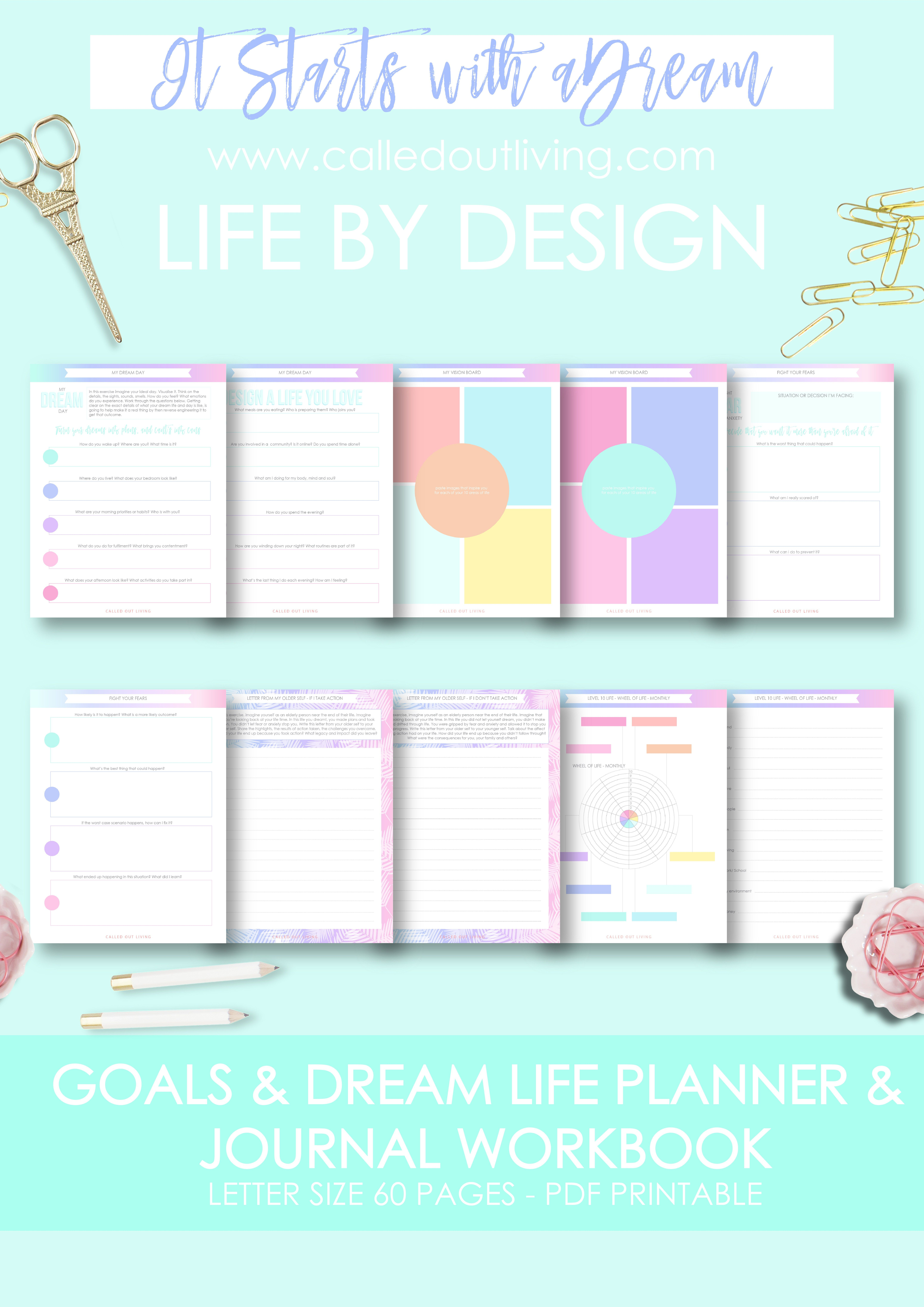 free printable planner weekly planner make your own planner
