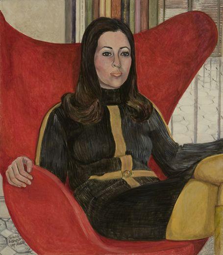 Sylvia Sleigh.Linda Rosencranz,1968